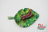Lizard on a Leaf Brooch