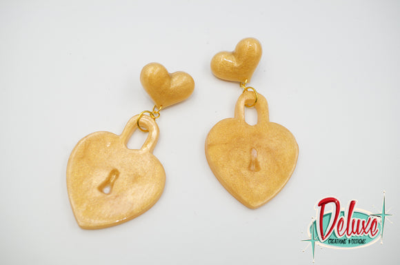 All You Need Is Love - Dangle earrings