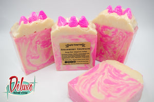 Soyful Soaprises - Strawberry Champagne Body Soap