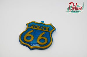 Get Your Kicks, On Route 66 - Brooch