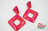 Bashful - Retro Dangle Earrings