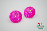 Pink Strike - 25mm Round top domes