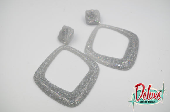 Extra Large Diamond Dangles