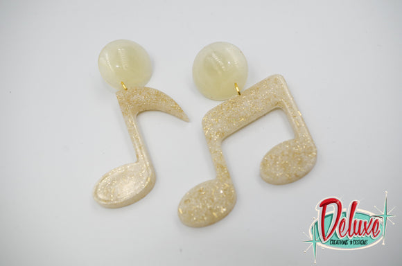 Music Notes - Dangle Earrings