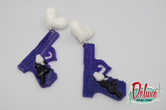 Shot me Down - Dangle earrings