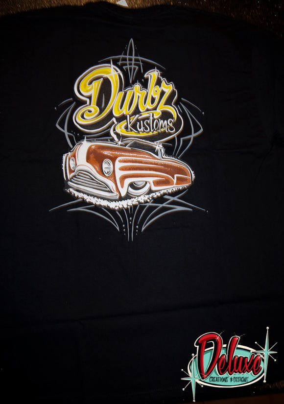 Durbz kustoms - Mens Black Shirt