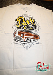 Durbz kustoms - Mens White Shirt