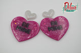 Heartfelt Messages  - Large Dangle Earrings
