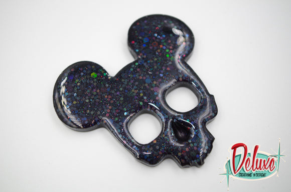 Dark Elegance Collection - Large Brooch