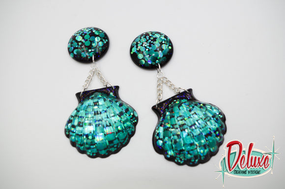 Mermaid Dreams  - Dangle Earrings