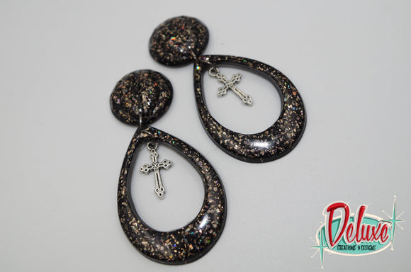 Dark Elegance Collection - Dangle Earrings