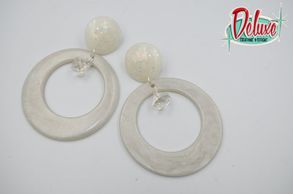Silver lining - Hoop Earrings