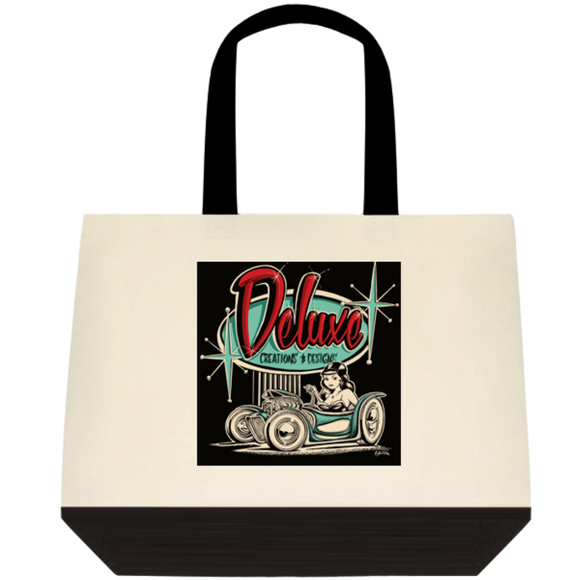 Deluxe Creations Logo - Cotton Tote Bag