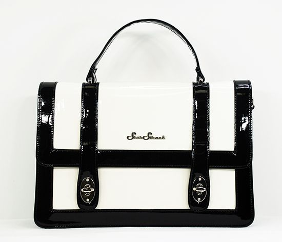 CLEARANCE Star Struck - Bettie Bag - Black and White