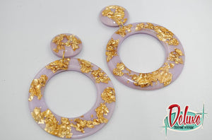 Gold Fever - Large Hoop Earrings