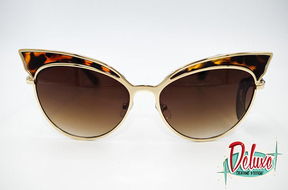 Catch a Thief - Eartha Kitty - Gold Tortoise Shell