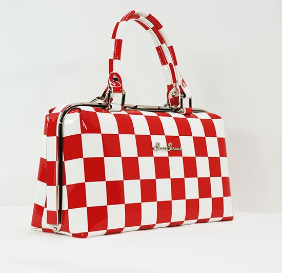 Star Struck - Jetson - Red and White checker