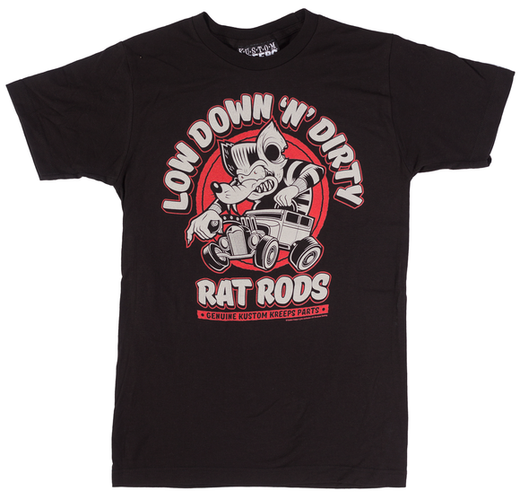 Kustom Kreeps - Mens Dirty Rat TShirt