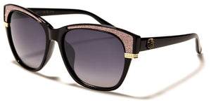 Kleo - Cat Eye Sunglasses - Pink Glitz