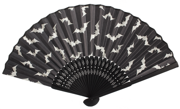 Sourpuss Luna Bats Fan