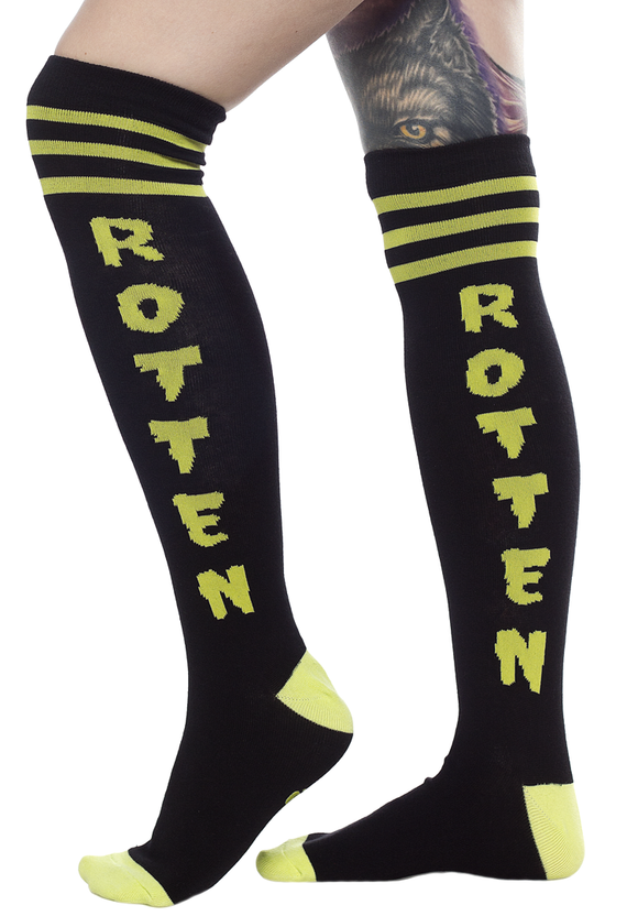 Sourpuss Rotten Knee Socks