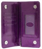 Sourpuss - Spiderweb Wallet Purple - Women's Wallets