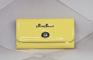 Star Struck Tri-Fold Wallet - Lemon