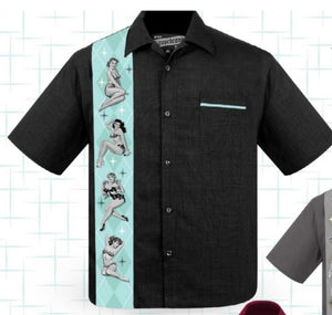 Liquorbrand - Mens Vegas Strip Work Shirt