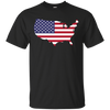 Image of USA Map T-Shirt