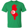 Image of Tunisia Map T-Shirt