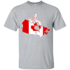 Image of Canada Map T-Shirt