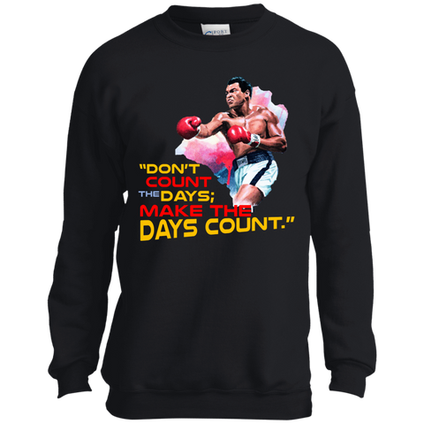 Muhammad Ali | Don't count the days, make the days count | Ultra Cotton T-Shirt