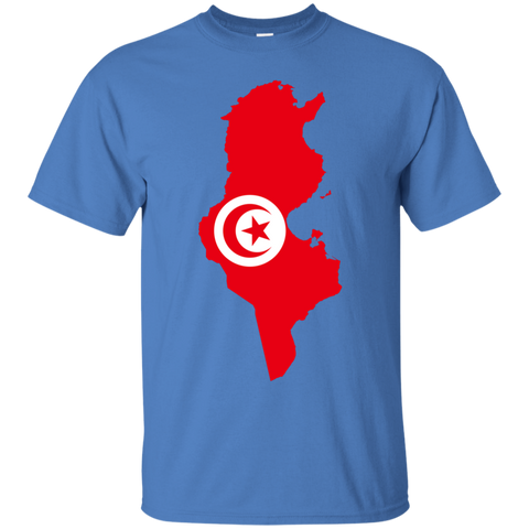 Tunisia Map T-Shirt