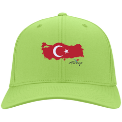 Turkey Flag - Port & Co. Twill Cap