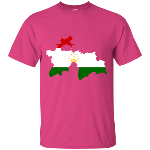 Tajikistan Map T-Shirt
