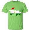 Image of Tajikistan Map T-Shirt
