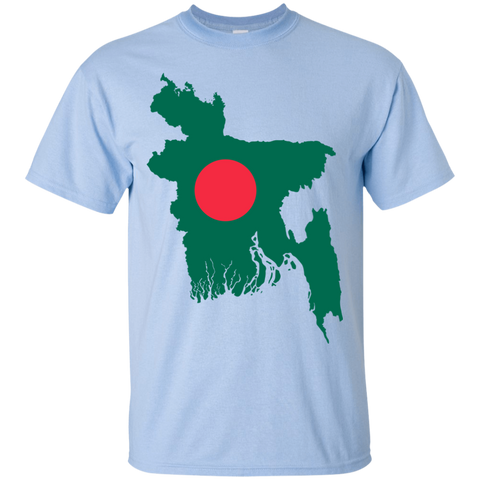 Bangladesh Map T-Shirt