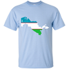 Image of Uzbekistan Map T-Shirt