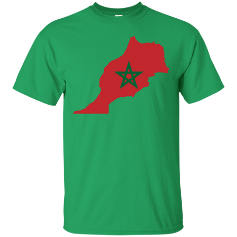 Morocco Map T-Shirt