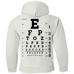 Eye Exam G185B Gildan Youth Pullover Hoodie