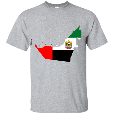 United Arab Emirates Map T-Shirt