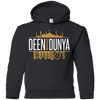 Image of Deen Over Duniya Youth Pullover Hoodie