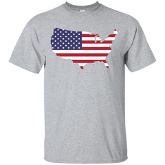 USA Map T-Shirt