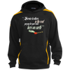 Image of Muhammad Ali - Service To Others | Youth Sleeve Stripe Hooded Pullover
