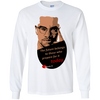 Image of Malcolm X - The future belongs to those who prepare for it today | Youth LS T-Shirt