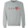 Image of ECG Heart G920 Crewneck Sweatshirt