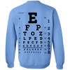 Image of Eye Exam G180 Crewneck Pullover Sweatshirt  8 oz.