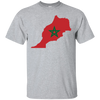 Image of Morocco Map T-Shirt