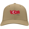 Image of Turkey Flag - Port & Co. Twill Cap