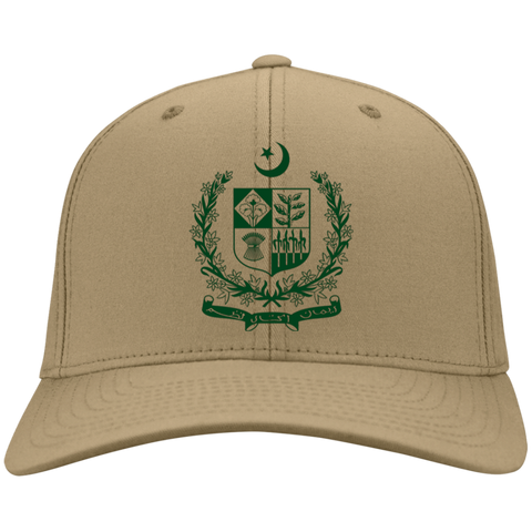 State Emblem of Pakistan - Port & Co. Twill Cap